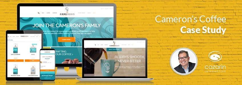 Cazarin Interactive Case Study - Cameron's Coffee