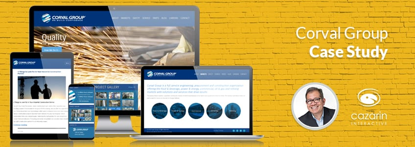 Cazarin Interactive Case Study - Corval Group