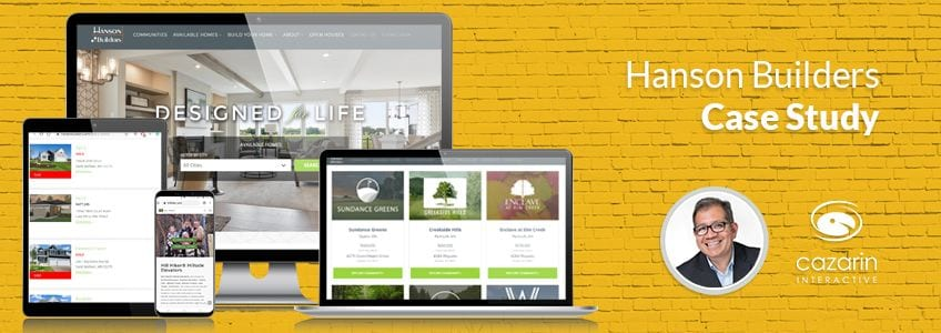 Cazarin Interactive Case Study - Hanson Builders