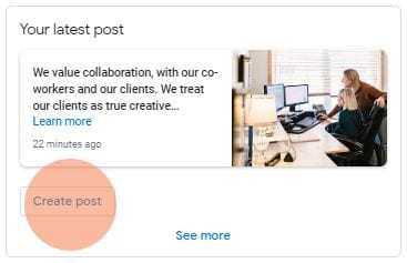 Create Posts Google My Business Cazarin Interactive Image